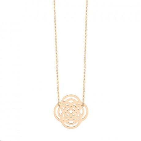 Collier Mini Purity Or rose GINETTE NY IN3