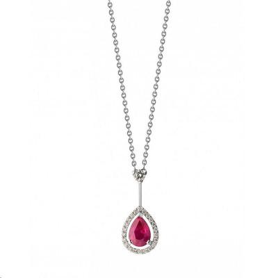 Boucles d'oreilles Or rose Diamants