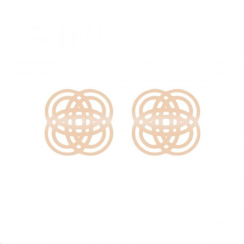 Boucles d'oreilles Purity Or rose BOUCLES D'OREILLES BOIN