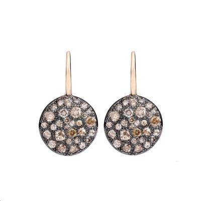 Bracelet Moi non plus Acier Or blanc Diamants