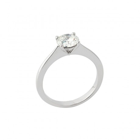Solitaire Pure Or blanc Diamant 0.60 carat GSI1 Solitaires PU1DIG060GSI1