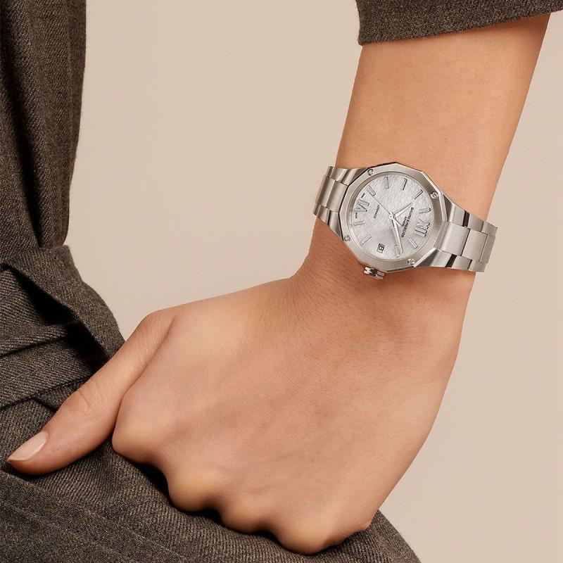 Solitaire Casual Or blanc Diamant 0.80 carat FSI1