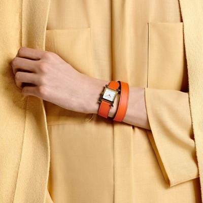 Collier Flora Or rose Diamants blancs Nacre blanche