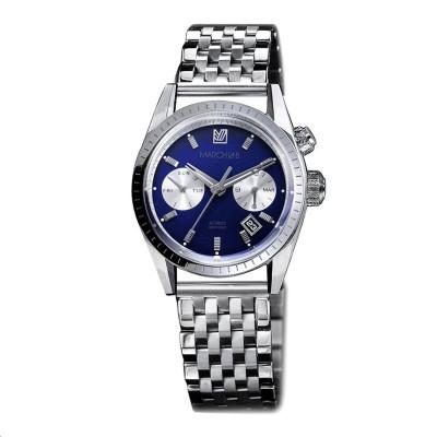 Bague Classique Or blanc Saphir bleu